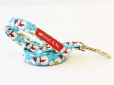 Mabel & Mu Dog Leads - Let it Snow - from